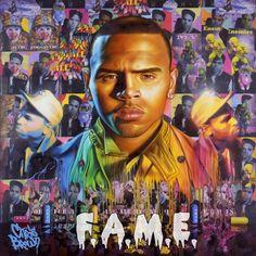 """Chris Brown - """"F.A.M.E."""" Album Cover"""