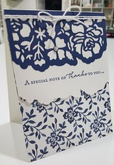 Stampin' Up: Detailed Floral Thinlits, Floral Phrases stamp