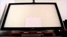 DIY Idea on How To Make A Backlit Drafting, Sketching and Drawing Table ...