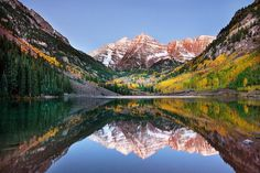 Marroon Bells, Aspen.   The beauty and peace the Grey family need right now.