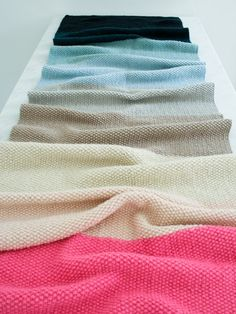 Worsted Twist Seed Stitch Scarf By Purl Soho - Free Knitted Pattern - (purlbee)