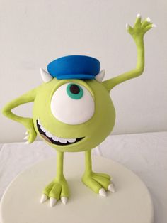Mike from monster university so cute by handi's cakes