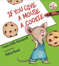 If You Give A Mouse A Cookie- (Picture Book)- This book goes through what happens when an energetic boy gives a mouse a cookie. The mouse in never satisfied with what he has and always wants more or something else. This book will have all children in laughter. It is a fun story that shows a someone can be satisfied with what they have, always continuing to want more.