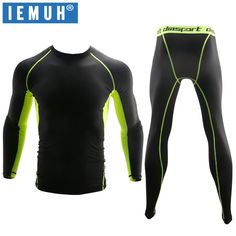 IEMUH New Winter Thermal Underwear Sets Men Quick Dry Anti-microbial Stretch Men's Thermo Underwear Male Warm Long Johns Fitness - Sahumart Rafting, Mens Long Johns, Pantalon Long, Underwear Sets, Height And Weight, Models, Quick Dry, Sport Outfits, Body