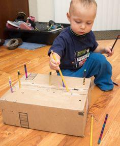 Pencil Poke Box