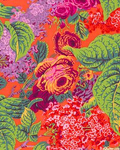 Kaffe Fassett Collective  Spring 2014 - Lilac - Persimmon