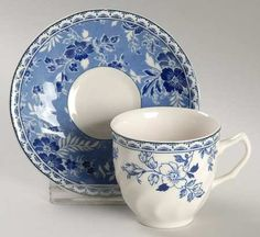 Amazon.com: Johnson Brothers Devon Cottage Demitasse Cup and Saucer Set (Flat), Fine China Dinnerware: Home & Kitchen