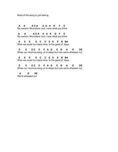 Flute Sheet Music: Twenty One Pilots