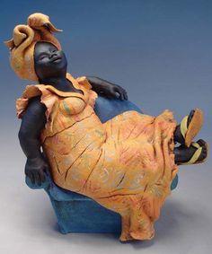 Escultura en arcilla, por Annie Peaker