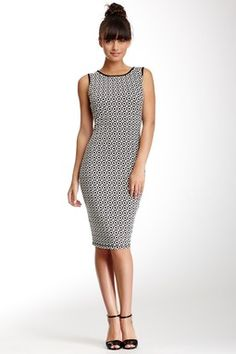 Hautelook - Max Studio Sleeveless Jacquard Midi Dress...BozBuys Budget Buyers Best Brands! ejewelry & accessories...online shopping http://www.BozBuys.com