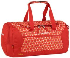 Vaude Snippy Red Mandarine Print (innen: Rot) - Kindertasche