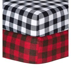 Trend Lab Checkered Flannel Crib Sheet - Overstock™ Shopping - Big Discounts on Trend Lab Baby Bed Sheets