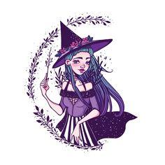 Witch by Coralie-G on DeviantArt