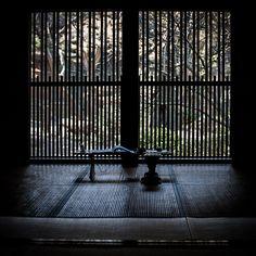 Japanese room (note kumiko pattern for window screen)