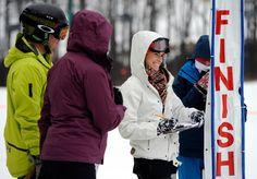 Members of the Alpine Race team. 2013 Winter Games