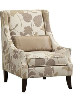 Haverty's accent chair- custom ordered these in a houndstooth fabric for the living room!