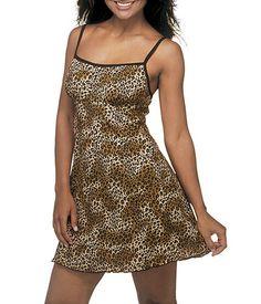 c2fd06dd34 Camisola curta oncinha DeMillus Carmel 30015 - 100% algodão     lingerie.com.br
