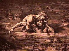 """Dante Alighieri - Divina Commedia - Inferno, XXXIII, 1  1 """"La bocca sollevò dal fiero pasto"""" 9 """"parlar e lagrimar vedrai insieme"""" 75 """"Poscia, più che 'l dolor, poté 'l digiuno"""""""