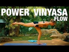 45 Minute Vinyasa Yoga Flow to Feel Empowered + Inspired - YouTube