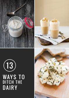13 Homemade Dairy Alternatives | HelloNatural.co