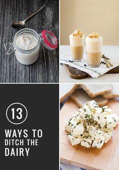 13 Homemade Dairy Alternatives | HelloNatural.co