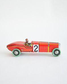 Vintage Racewagen
