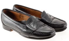 Cole Haan Women's Black Leather Penny Loafers Moccasins Size 5 #ColeHaan…