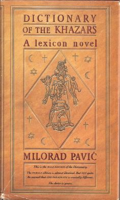 Dictionary of the Khazars (Male Edition) - Milorad Pavic