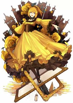 Riliane Lucifen d'Autriche The Evillious Chronicles - Deadly Sins of Evil: The Daughter of Evil Kagamine Rin And Len, Kaito, Servant Of Evil, Queen Anime, Miku Cosplay, Real Anime, Art Folder, Anime Shows, Kawaii Anime
