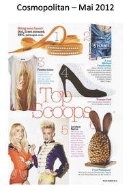Cosmopolitan Magazine - May 2012