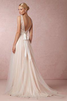 BHLDN Tamsin Gown in  Bride Wedding Dresses @BHLDN #BHLDNwishes