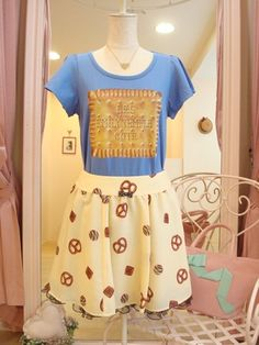 Cookies t.shirt and skirt by Emily Temple cute