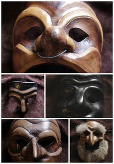 Handmade masks in Le Marche keep alive a 500-year-old theatrical tradition