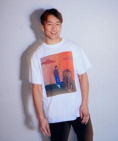 """朝倉 海 Kai Asakura on Instagram: """"最強のオタクTシャツ🤓🦁"""" Instagram, T Shirt, Tops, Women, Fashion, Supreme T Shirt, Moda, Tee Shirt, Fashion Styles"""