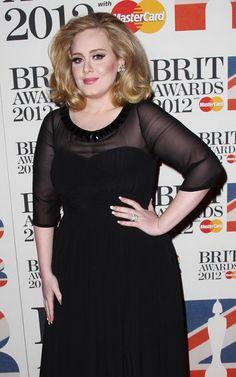 Adele Laurie Blue Adkins @ 2012 32nd Brit Awards