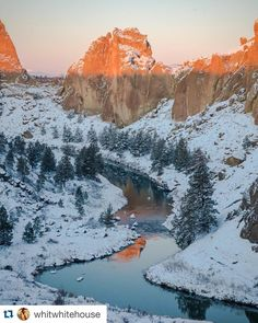 Smith Rock State Park in Terrebonne, Oregon ・・・