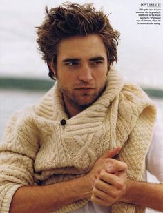 Robert Pattinson Vanity Fair december 09