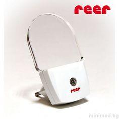 REER Нощна LED лампа със сензор - MiniMod Night Lamps, Home Appliances, Led, House Appliances, Appliances