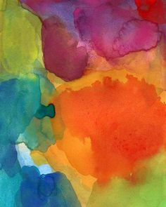Art Print of Watercolor Painting Abstract Art by soveryhappyart, $20.00    ...BTW,Please Check this out:  http://artcaffeine.imobileappsys.com