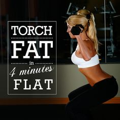Have you heard about the revolutionary #4minute #fatblaster called #Tabata that continues to burn fat for up to 24 hours?