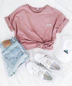 shirt pink outfit cute cute shirt pink shirt cute outfits