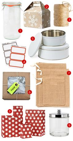 Design Sponge's 20 Pretty Packages for #diy gifts featuring #MarthaStewartHomeOffice labels