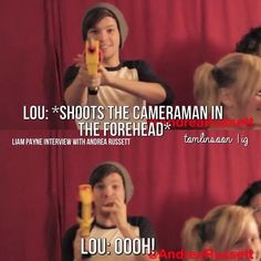 Drowning in Louis feels right now. I miss the old Louis I feel like he's not himself anymore he's never as sassy during interviews and just .....I can't