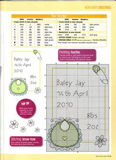 Baby Announcement Cards - different designs