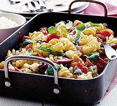 Easy Mediterranean pasta