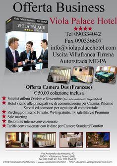Offerta Camera Dus (Francese) Validità offerta Ottobre e Novembre (fino ad esaurimento disponibilità)