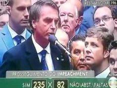 Deputato Jair Bolsonaro 17 04 2016