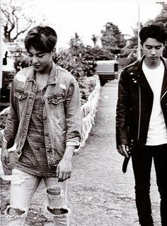 Xiumin and D.O | EXO Dear Happiness photobook 2016 ♥
