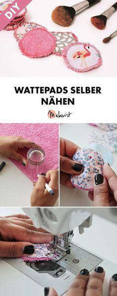 Upcycling: Wattepads/Abschminktücher nähen - gratis Nähanleitung via Makerist.de