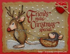 Happy House Mouse Monday ~ What's Your Favorite Season?! – My ...
